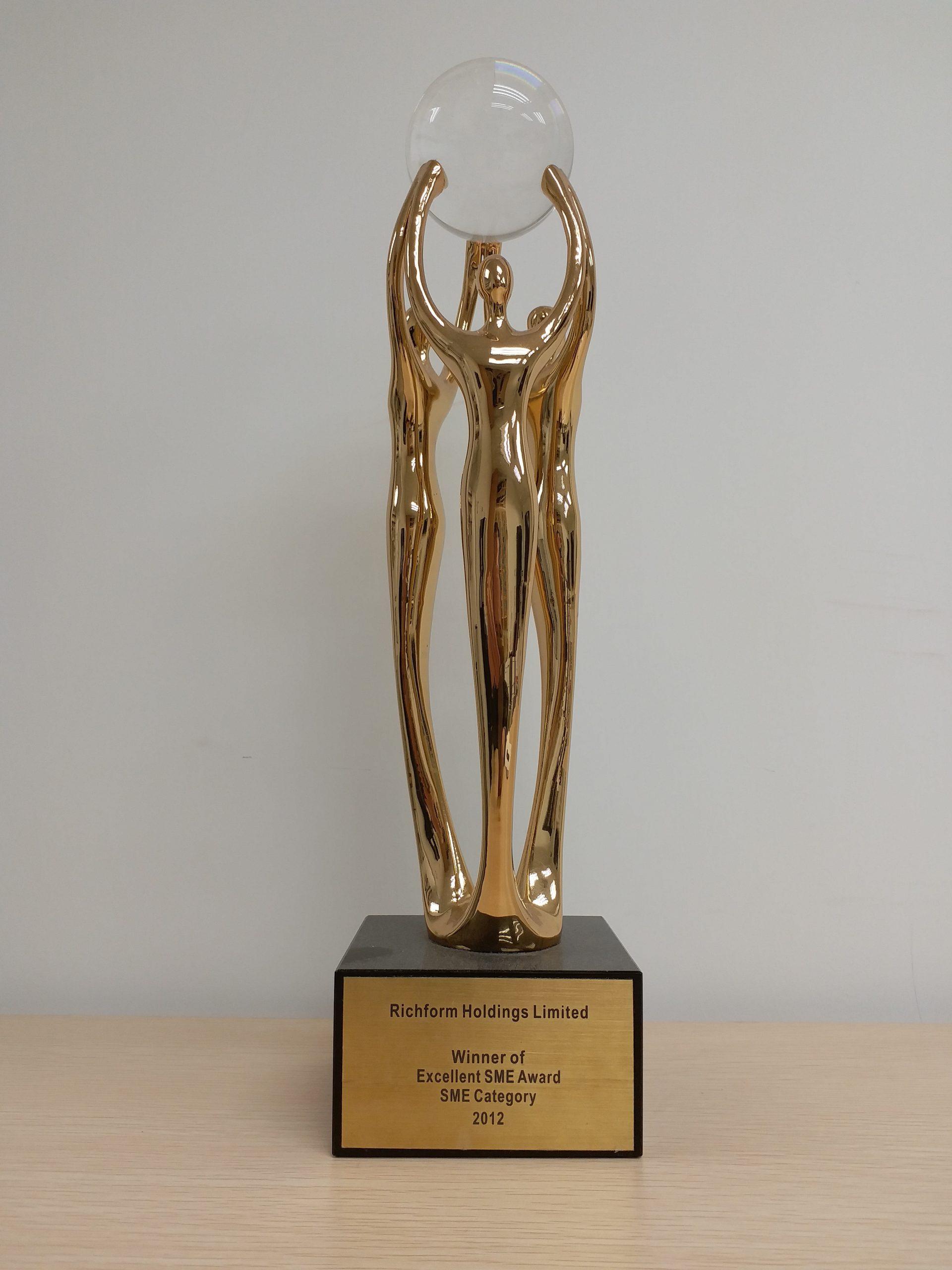 2012 HR Excellence Award Excellence SME Award SME Category