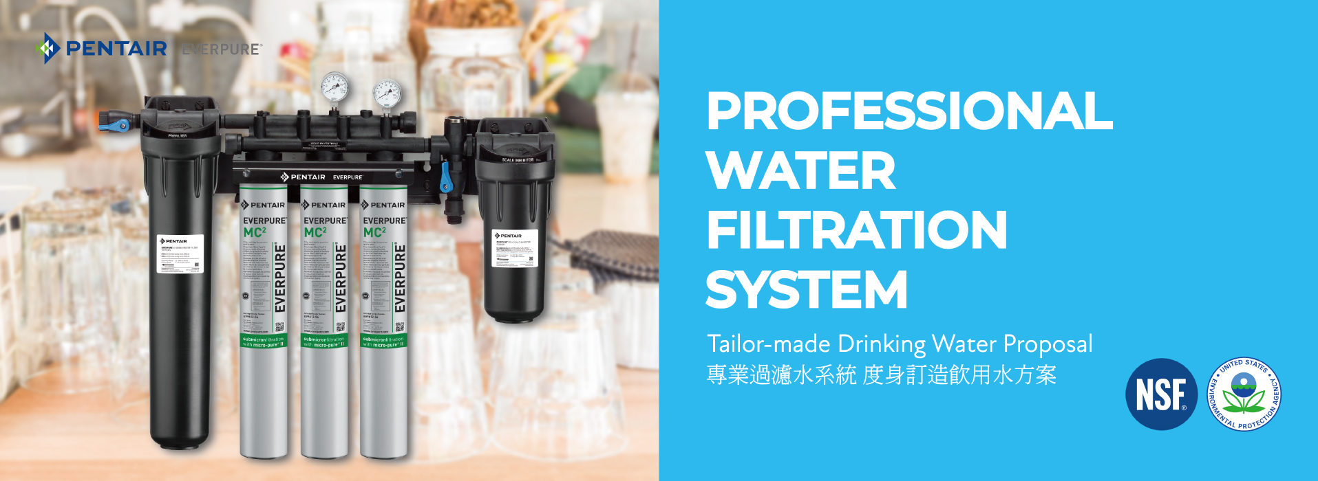 Professional Water Filtration System banner